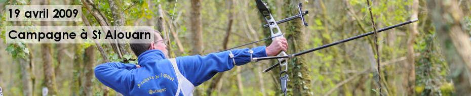 Photos du concours qualificatif de tir campagne, le 19 avril 2009, dans les bois de Saint Alouarn.