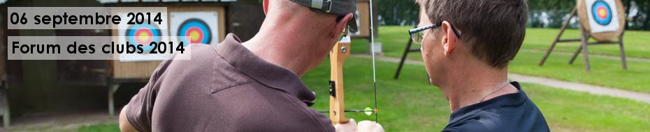 Photos de la participation des Archers de l'Odet au forum des clubs 2014 à Quimper.
